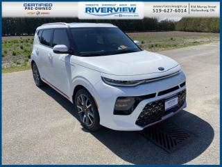 Used 2020 Kia Soul GT-Line Limited One Owner | No Accidents | Heads Up Display | Heated & Vented Seating for sale in Wallaceburg, ON