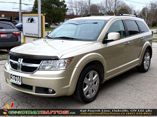2010 Dodge Journey R/T|LOW KM|NO ACCIDENT|REMOTE START|AWD|CERTIFIED