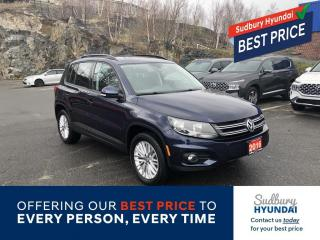 Used 2016 Volkswagen Tiguan Comfortline Snow tires on rims Included! for sale in Sudbury, ON