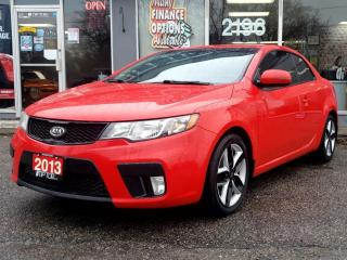 Used 2013 Kia Forte Koup 2dr Cpe Man SX for sale in Bowmanville, ON