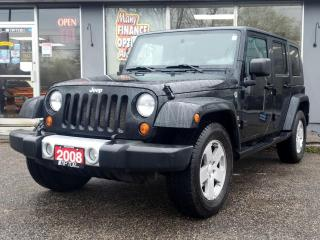 Used 2008 Jeep Wrangler 4WD 4dr Unlimited Sahara for sale in Bowmanville, ON