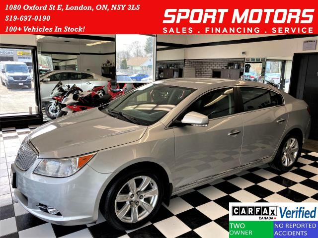 2011 Buick LaCrosse CXL 3.6L V6+Leather+Roof+New Tires+ACCIDENT FREE