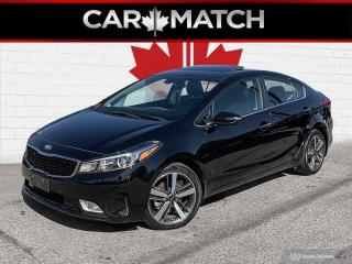Used 2018 Kia Forte SX / NAV / LEATHER / ROOF / NO ACCIDENTS for sale in Cambridge, ON