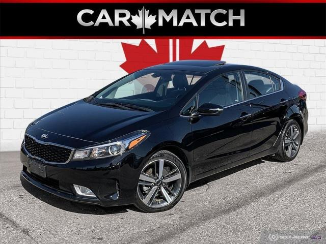 2018 Kia Forte SX / NAV / LEATHER / ROOF / NO ACCIDENTS