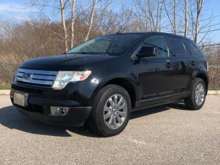 Used 2007 Ford Edge SEL PLUS- AWD WITH PANORAMIC ROOF for sale in Brantford, ON