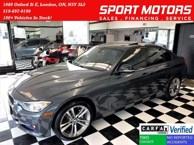 2013 BMW 3 Series 328i+Leather+Roof+Xenons+GPS+ACCIDENT FREE