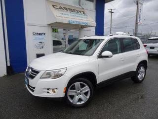Used 2011 Volkswagen Tiguan Highline 4Motion AWD Leather, Pano Roof, One Owner for sale in Langley, BC