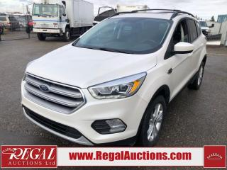 Used 2017 Ford Escape SE 4D Utility 4WD 2.0L for sale in Calgary, AB