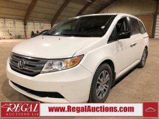 Used 2012 Honda Odyssey EX-L 4D VAN for sale in Calgary, AB