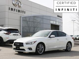 Used 2019 Infiniti Q50 3.0t ProASSIST PKG Leather, Remote Start, Bose Audio, Blind Spot Warning for sale in Winnipeg, MB