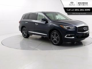 Used 2018 Infiniti QX60 Deluxe Technology PKG Remote Start, Heated Rear Seats, Bose Audio, 360 Camera's for sale in Winnipeg, MB