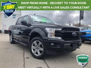 Used 2018 Ford F-150 Lariat LEATHER AWD SUNROOF! LARIAT CREW CAB 4X4 for sale in Hamilton, ON