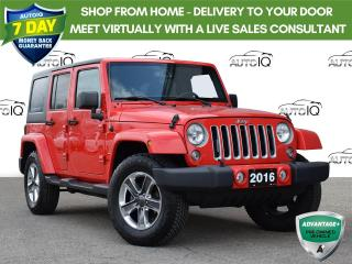 Used 2016 Jeep Wrangler Unlimited Sahara This just in!!! for sale in St. Thomas, ON