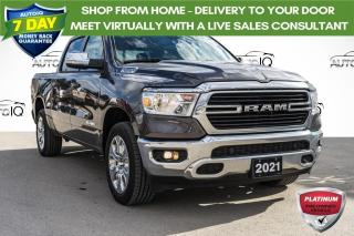 Used 2021 RAM 1500 Big Horn LOW MILEAGE CREW CAB for sale in Innisfil, ON