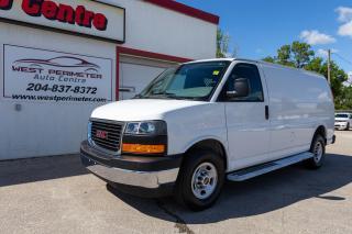 Used 2019 GMC Savana Van 2500 Cargo *B/Up Cam*Lease/Finance* for sale in Winnipeg, MB
