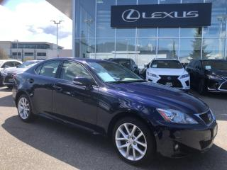 Used 2011 Lexus IS 250 AWD 6A / Leather & Moonroof PKG!NO Accidents, LOW for sale in North Vancouver, BC
