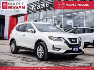 Used 2018 Nissan Rogue SV Remote Start Blind Spot Backup Cam Heated Seats for sale in Maple, ON