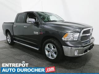 Used 2017 RAM 1500 Big Horn - V6 Diesel - AWD - Climatiseur for sale in Laval, QC