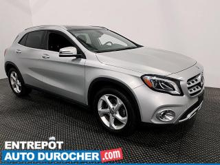 Used 2018 Mercedes-Benz GLA GLA 250 - AWD - NAVIGATION - CUIR - CLIMATISEUR for sale in Laval, QC