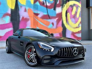 Used 2018 Mercedes-Benz AMG GT AMG GT C Coupe|V8 BITURBO|VENTED SEATS|EXHAUST|ALLOYS! for sale in Brampton, ON