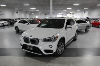 Used 2017 BMW X1 XDRIVE28i I LEATHER I PANOROOF I REAR CAM I HEATED SEATS for sale in Mississauga, ON