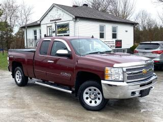 Used 2013 Chevrolet Silverado 1500 No-Accidents 4X4 Ext Cab LS Cheyenne Edition HITCH Power Gro for sale in Sutton, ON