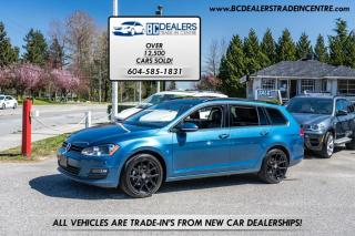 Used 2017 Volkswagen Golf Sportwagen DSG 1.8 TSI 4MOTION Highline, Pano Roof, Leather, Loaded! for sale in Surrey, BC