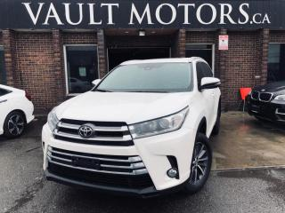 Used 2017 Toyota Highlander AWD 4dr XLE,LEATHER, NO AACIDENTS, for sale in Brampton, ON