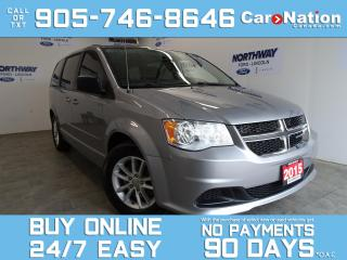 Used 2015 Dodge Grand Caravan SXT PLUS | DVD PLAYER | TOUCHSCREEN | REAR A/C for sale in Brantford, ON
