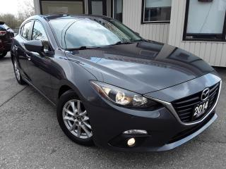 Used 2014 Mazda MAZDA3 GS SPORT 5-Door - BACK-UP CAM! SUNROOF! 6-SPEED MT! for sale in Kitchener, ON