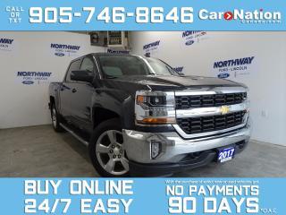 Used 2017 Chevrolet Silverado 1500 LT | 4X4 | CREW CAB | TOUCHSCREEN | 20