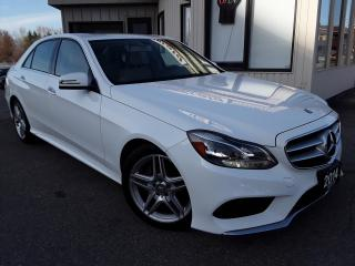 Used 2014 Mercedes-Benz E-Class E350 4MATIC Sedan - NAV! BACK-UP CAM! SUNROOF! H/K SOUND! for sale in Kitchener, ON