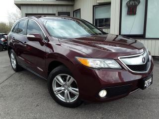 Used 2014 Acura RDX 6-Spd AT AWD - LEATHER! BACK-UP CAM! SUNROOF! for sale in Kitchener, ON