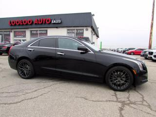 Used 2013 Cadillac ATS 2.0L Camera Bluetooth Sunroof Certified for sale in Milton, ON
