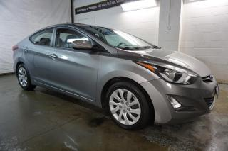 Used 2016 Hyundai Elantra GLS 6Spd CERTIFIED 2YR WARRANTY CAMERA SUNROOF BLUETOOTH HEATED 4 SEATS CRUISE AUX for sale in Milton, ON