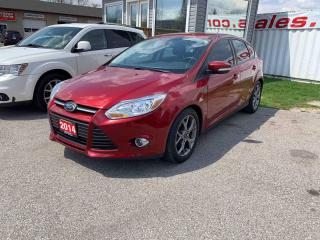 Used 2014 Ford Focus SE Hatch for sale in London, ON