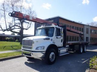 Used 2011 Freightliner M2 112 Flat Deck Conveyer belt Air Brakes Diesel for sale in Burnaby, BC