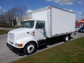 Used 2000 International 4700 17 foot Cube Van Diesel Power Tailgate With Hydraulic Brakes for sale in Burnaby, BC