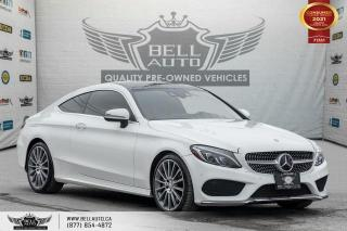Used 2017 Mercedes-Benz C-Class C 300, AWD, AMG PKG, COUPE, NAVI, REAR CAM,P. ROOF for sale in Toronto, ON