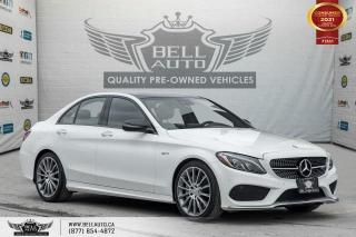 Used 2017 Mercedes-Benz C-Class AMG C 43, AWD, NO ACCIDENT, NAVI, REAR CAM, PANO ROOF for sale in Toronto, ON