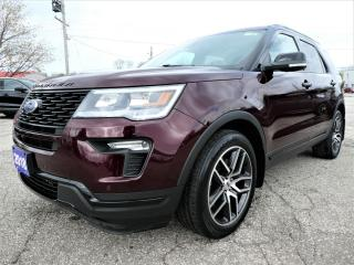 Used 2018 Ford Explorer Sport | Navigation | Cooled Seats | Remote Start for sale in Essex, ON
