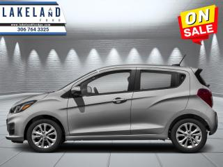 Used 2020 Chevrolet Spark LT  - $100 B/W for sale in Prince Albert, SK