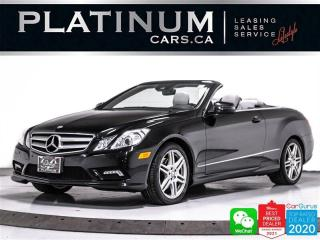 Used 2011 Mercedes-Benz E-Class E350, CONVERTIBLE, CAM, HEATED/VENTED, PREM SOUND for sale in Toronto, ON