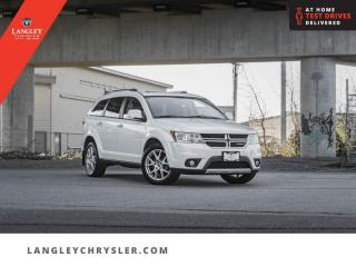 Used 2015 Dodge Journey BASE  DVD/ Accident Free/ Leather/ Sunroof/ Navi for sale in Surrey, BC