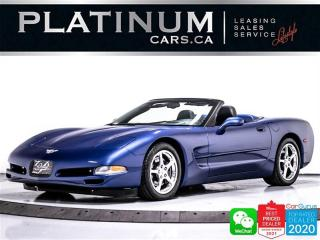 Used 2003 Chevrolet Corvette 50TH ANNIVERSARY, CONVERTIBLE, MANUAL, HUD, BOSE for sale in Toronto, ON
