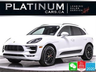 Used 2018 Porsche Macan GTS, 360HP, AWD, NAV, CAM, PANO, HEATED AND VENTED for sale in Toronto, ON