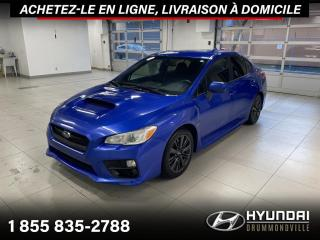 Used 2017 Subaru WRX WRX + GARANTIE + CAMERA + MAGS + WOW !! for sale in Drummondville, QC