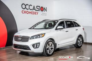 Used 2016 Kia Sorento SX+TOIT PANO+NAVI+CUIR+SIEGES CLIM/CHAUFFANTS for sale in Laval, QC