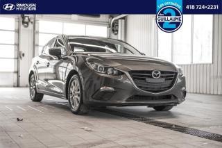Used 2016 Mazda MAZDA3 GS sport chez Rimouski Hyundai for sale in Rimouski, QC