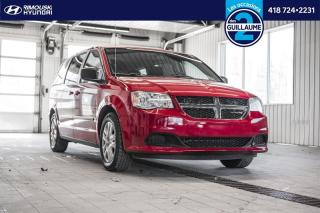 Used 2016 Dodge Grand Caravan CVP chez Rimouski Hyundai for sale in Rimouski, QC